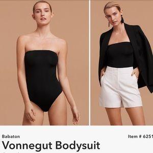 Aritzia Babaton Vonnegut Strapless Bodysuit
